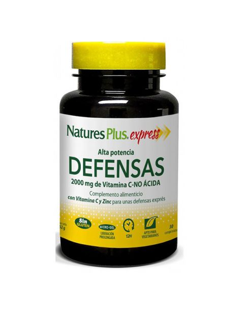 Express Defensas Nature's Plus - 30 comprimidos