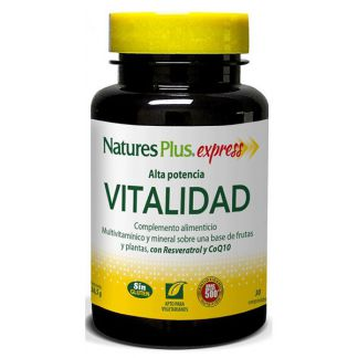 Express Vitalidad Nature's Plus - 30 comprimidos