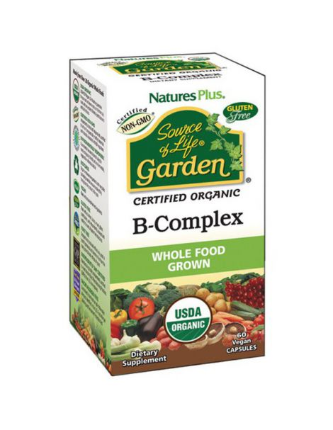 Garden B-Complex Nature's Plus - 60 cápsulas