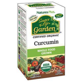 Garden Cúrcuma Nature's Plus - 30 cápsulas