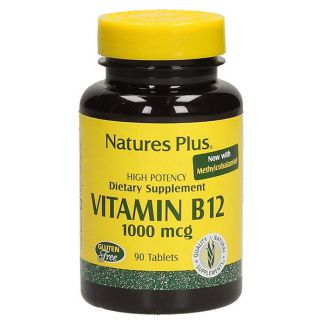 Vitamina B12 1000 mcg. Nature's Plus - 90 comprimidos