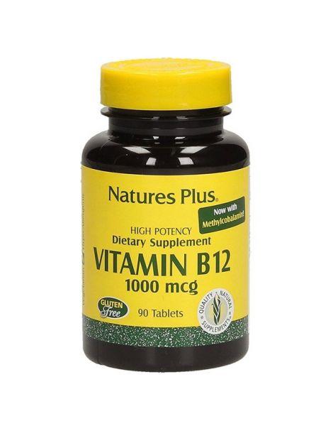 Vitamina B12 1000 mcg. Nature's Plus - 90 comprimidos