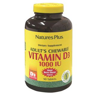 Vitamina D3 1000 UI Nature's Plus - 90 comprimidos
