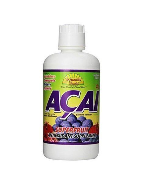 Zumo de Açai Dynamic Health - 946 ml.