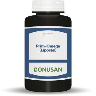 Prim-Omega (Liposan) Bonusan - 80 cápsulas