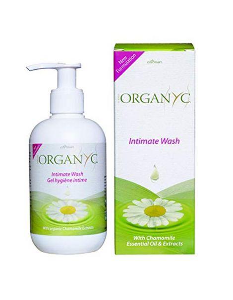 Jabón Higiene Íntima Organyc - 250 ml.