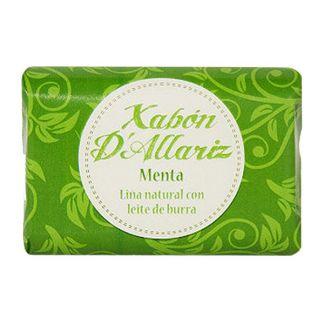 Jabón de Leche de Burra y Karité Menta Xabón D´Allariz - 100 gramos