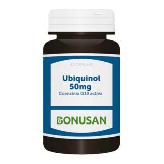 Ubiquinol (Q10 Activa) 50 mg. Bonusan - 60 cápsulas