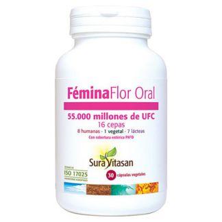 Fémina Flor Oral Sura Vitasan - 30 cápsulas