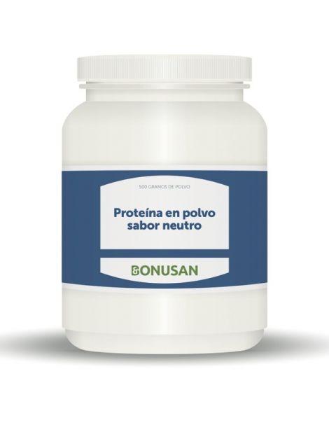 Proteína en Polvo Sabor Neutro Bonusan - 500 gramos