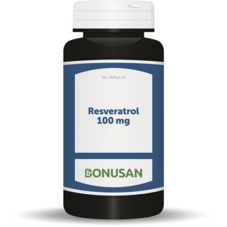 Resveratrol 100 mg. Bonusan - 60 cápsulas
