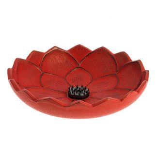 Incensario Flor de Loto Rojo Iwachu