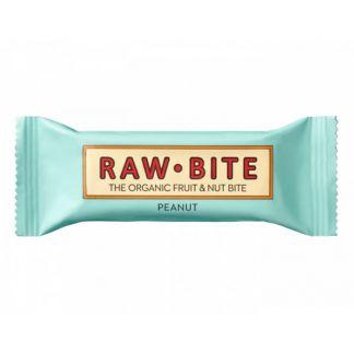 Superbarrita Cruda de Cacahuetes Raw-Bite - 12x50 gramos