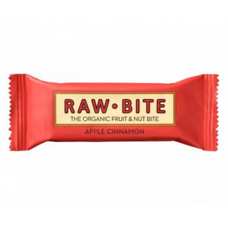 Superbarrita Cruda de Canela y Manzana Raw-Bite - 12x50 gramos