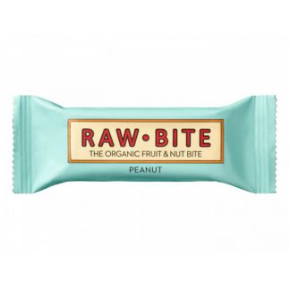 Superbarrita Cruda de Cacahuetes Raw-Bite - 50 gramos