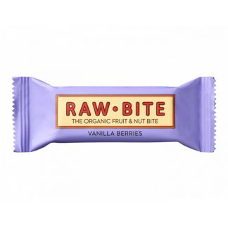 Superbarrita Cruda de Vainilla con Frutos del Bosque Raw-Bite - 50 gramos