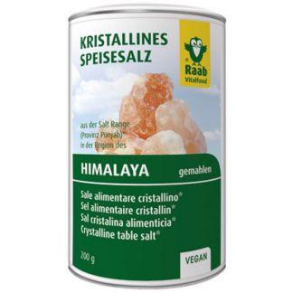 Sal del Himalaya Molida Raab - 200 gramos