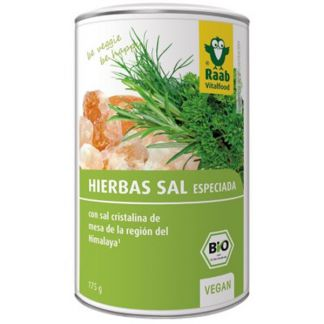 Sal del Himalaya Hierbas Bio Raab - 175 gramos