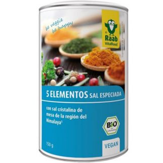 Sal del Himalaya 5 Elementos Bio Raab - 150 gramos