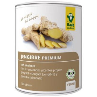 Jengibre Premium Bio Raab - 100 gramos
