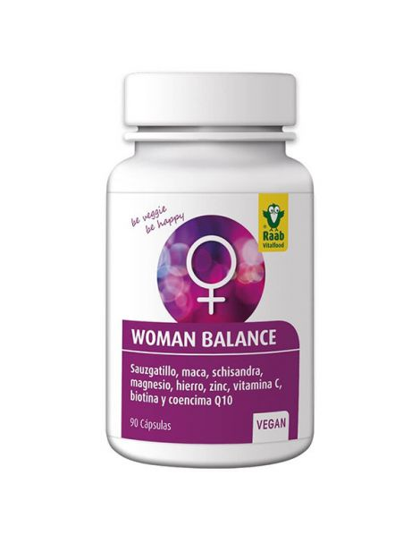 Woman Balance Raab - 90 cápsulas