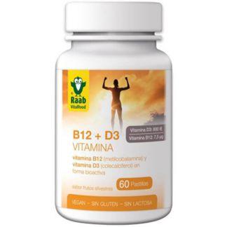 Vitamina B12+D3 Raab - 60 comprimidos