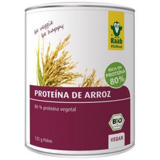 Proteína de Arroz Bio Raab - 400 gramos