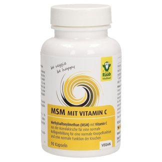 MSM con Vitamina C Raab - 90 cápsulas