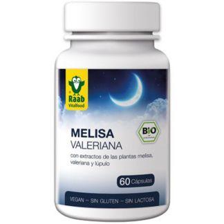 Melisa-Valeriana Raab - 60 cápsulas
