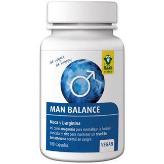 Man Balance Raab - 100 cápsulas
