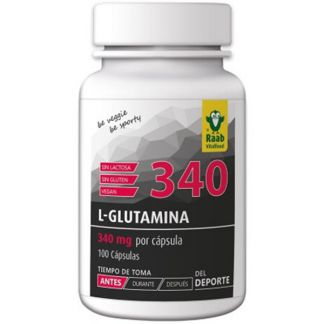 L-Glutamina con Vitamina C Raab - 100 cápsulas
