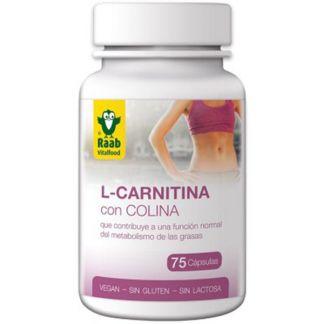 L-Carnitina con Colina Raab - 75 cápsulas