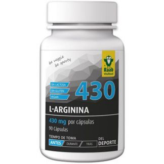L-Arginina Raab - 90 cápsulas