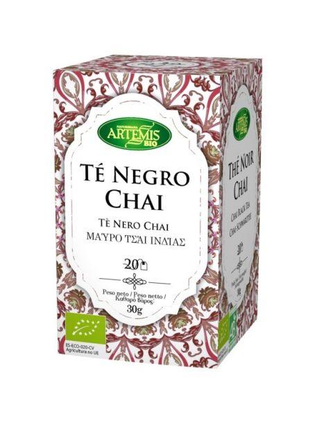 Té Negro Chai Bio Artemis Herbes del Molí - 20 bolsitas