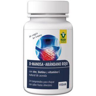 D-Manosa-Arándano Rojo Raab - 24 comprimidos