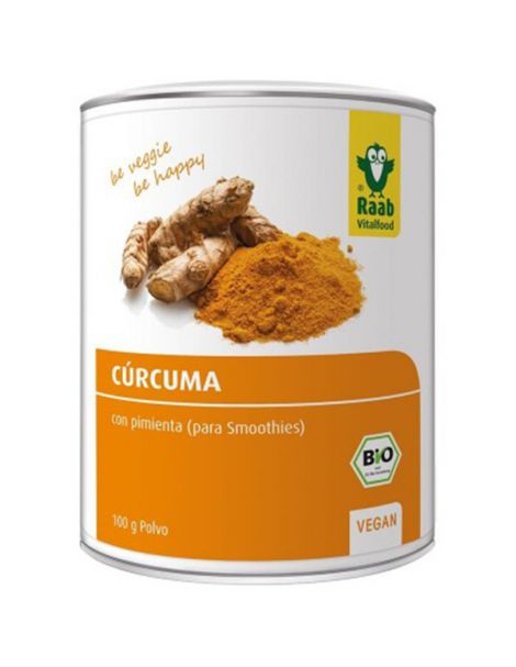 Cúrcuma con Pimienta Bio Raab - 100 gramos