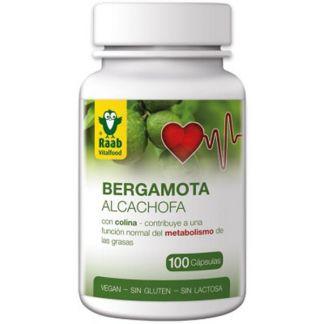 Bergamota-Alcachofa Bio Raab - 100 cápsulas