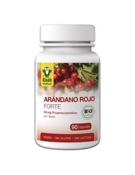 Arándano Rojo Forte Raab - 90 cápsulas