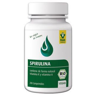Spirulina Bio Raab - 200 comprimidos