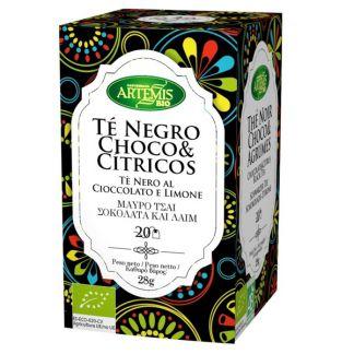 Té Negro Chocolate y Cítricos Bio Artemis Herbes del Molí - 20 bolsitas