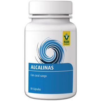 Alcalinas Raab - 80 cápsulas