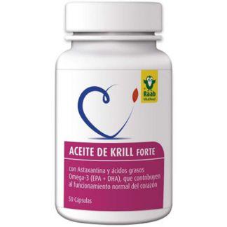 Aceite de Krill Forte Raab - 50 cápsulas