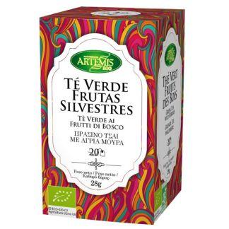 Té Verde con Frutas Silvestres Bio Artemis Herbes del Molí - 20 bolsitas