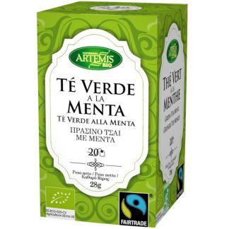 Té Verde con Menta Bio Artemis Herbes del Molí - 20 bolsitas