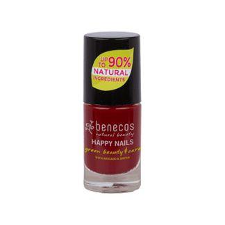 Laca de Uñas Cherry Red Benecos - 5 ml.