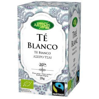 Té Blanco Bio Artemis Herbes del Molí - 20 bolsitas