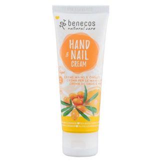Crema de Manos Espino Amarillo y Naranja Benecos - 75 ml.