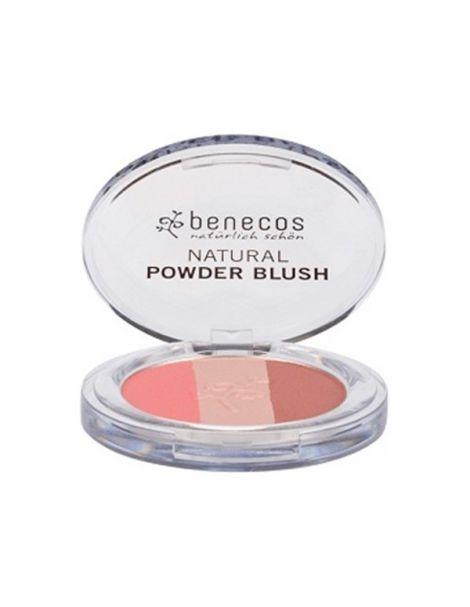 Colorete Compacto Trío Fall in Love Benecos - 5,5 gramos