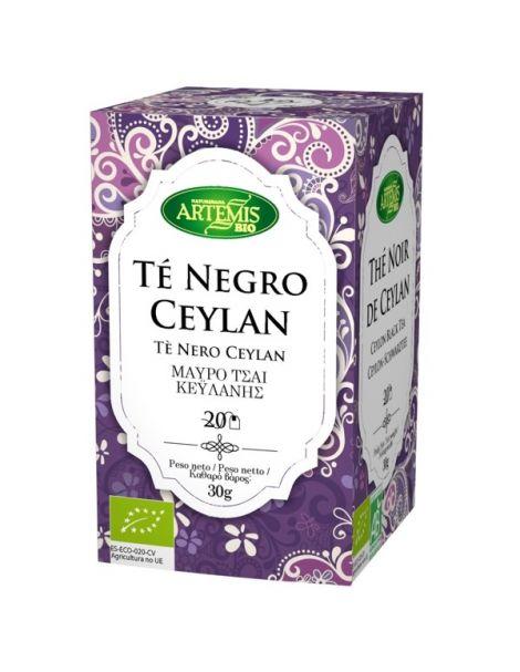 Té Negro Ceylán Bio Artemis Herbes del Molí - 20 bolsitas