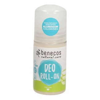 Desodorante Aloe Vera Roll-On Benecos - 50 ml.